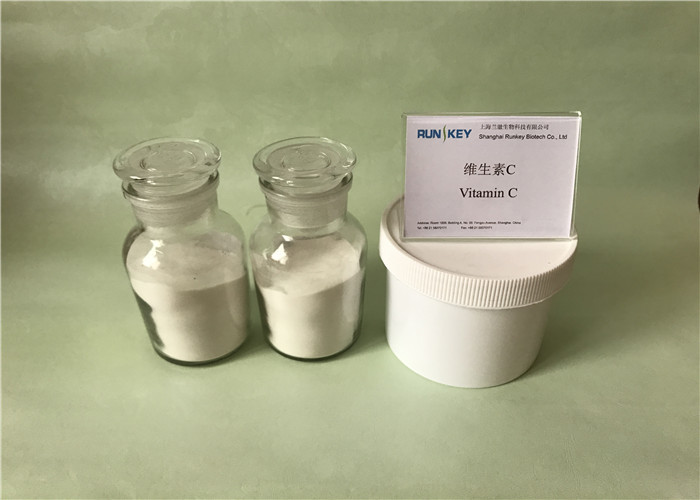 99.0%~100.5% Assay Vitamin C Raw Materials Supplements For Curing Diabetes